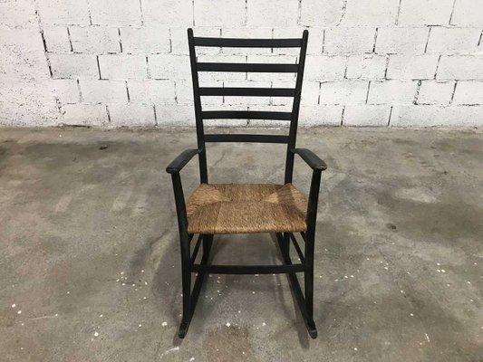 Sedia Adirondack Roma : Sedia a dondolo vintage. simple sedia a dondolo ferro battuto