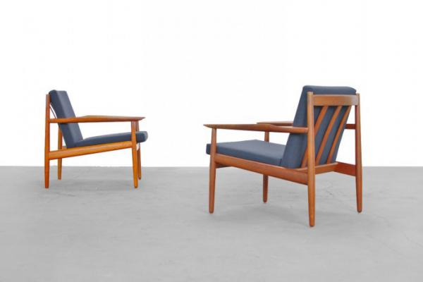 Beau Teak Easy Chair By Arne Vodder For Glostrup