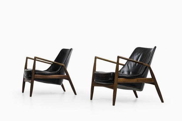 Sälen (Seal) Chairs By Ib Kofod Larsen For OPE (1950s)