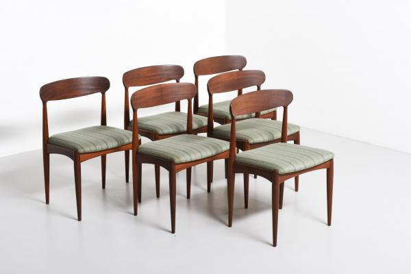 Dining Chairs By Johannes Andersen For Uldum