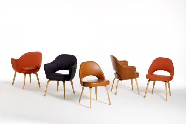 Bon Saarinen Executive Arm Chairs For Knoll