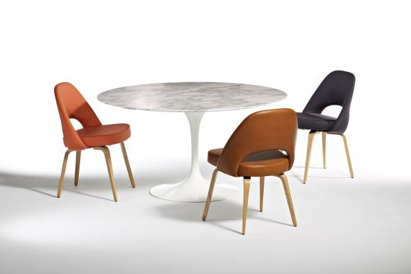 Tulip Stoel Knoll : Tulip table and tulip chair by eero saarinen from find me the