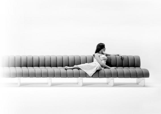 Lombrico Sofa By Marco Zanuso For Bu0026B Italia (1967)