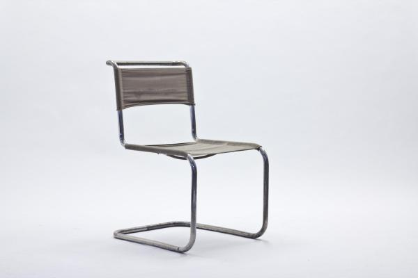 AuBergewohnlich B33 Cantilevered Chair By Marcel Breuer For Thonet, 1930s