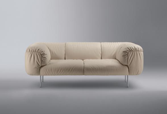 Bebop Sofa By Cini Boeri For Poltrona Frau 2010
