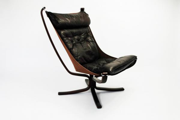 Falcon Chair by Sigurd Ressell for Vatne Møbler (1973) & Buy Sigurd Ressel furniture online at Pamono