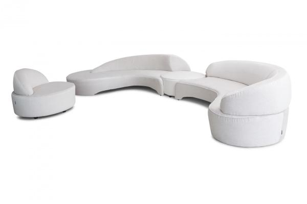 Vintage Comet Sectional Sofa By Vladimir Kagan For Roche Bobois