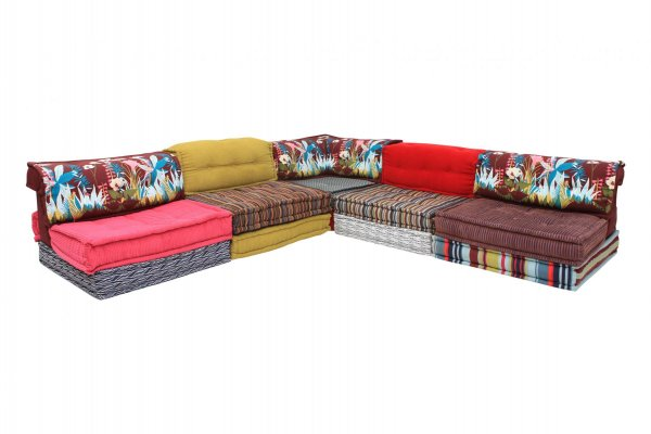 Mah Jong Modular Sectional Corner Sofa By Hans Hopfer For Roche Bobois 1970s