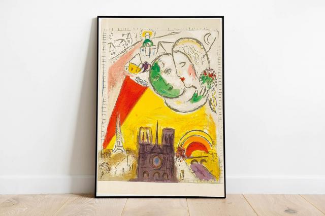 Entfliehen Sie in die Welt der Poesie und Phantasie mit Werken von Künstlern wie Marc Chagall, Salvador Dali und Max Ernst