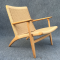 Oak CH25 Chair by Hans J. Wegner for Carl Hansen & Søn (1950)