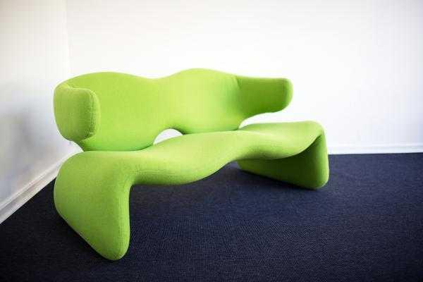 France 1966 Djinn sofa by Olivier Mourgue