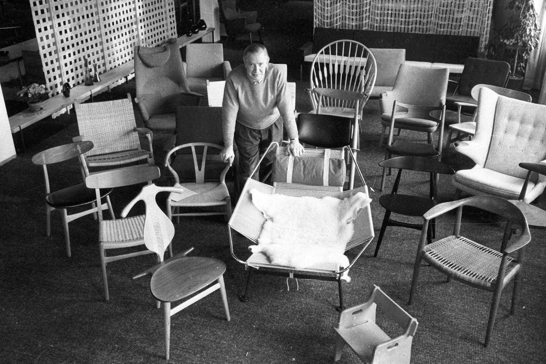 Hans J Wegner S Outsized Legacy Pamono Stories