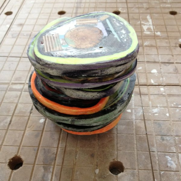 stack of coasters