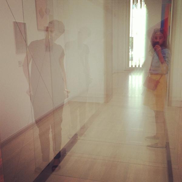 Reflecting in Gerhard Richter