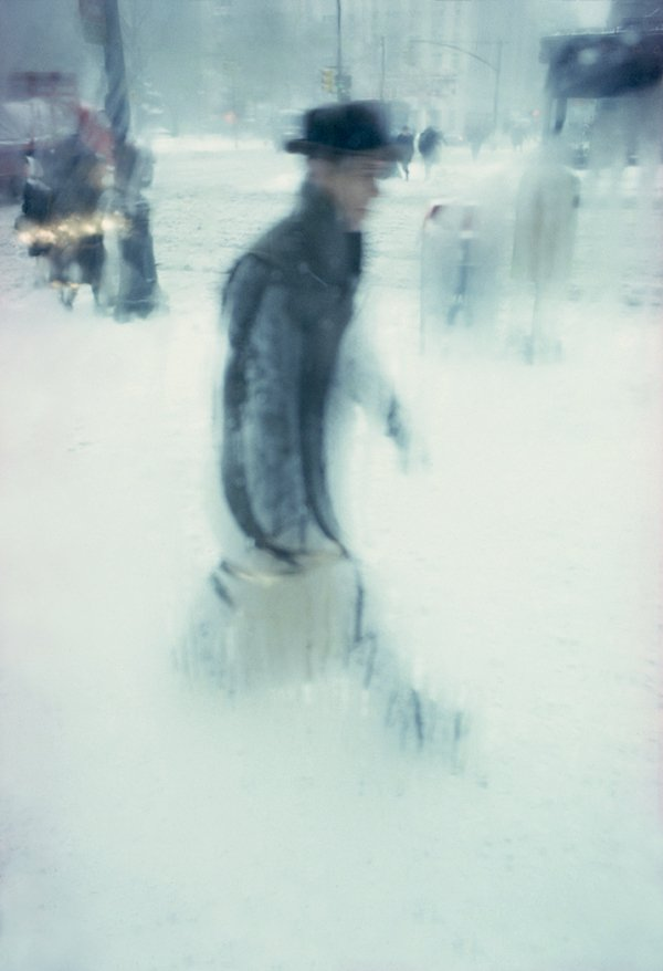 """Package"" c. 1960 © Saul Leiter"