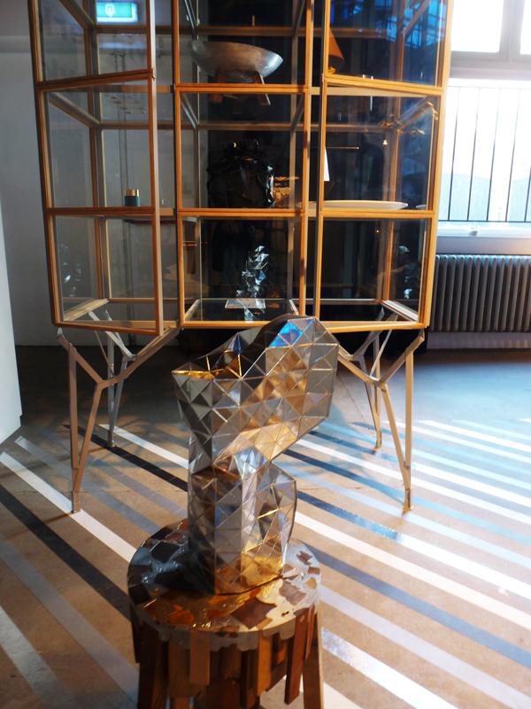Vase by Pepe Heykoop and cabinet by Paul Heijnen.