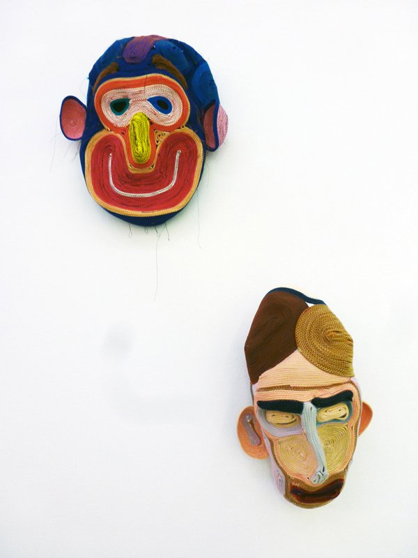 Masks by Bertjan Pot.