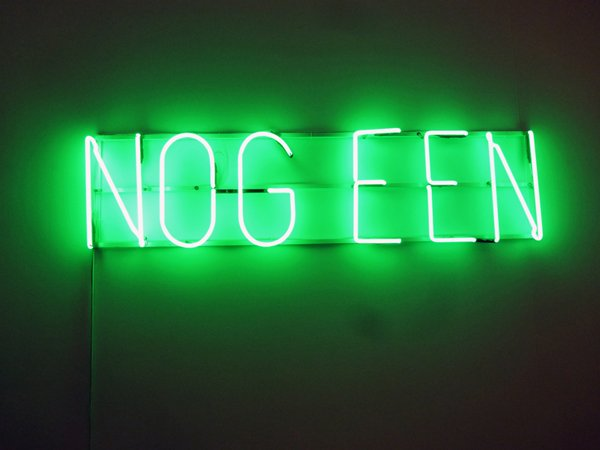 """""""Nog Een"""" by John Körmeling."""