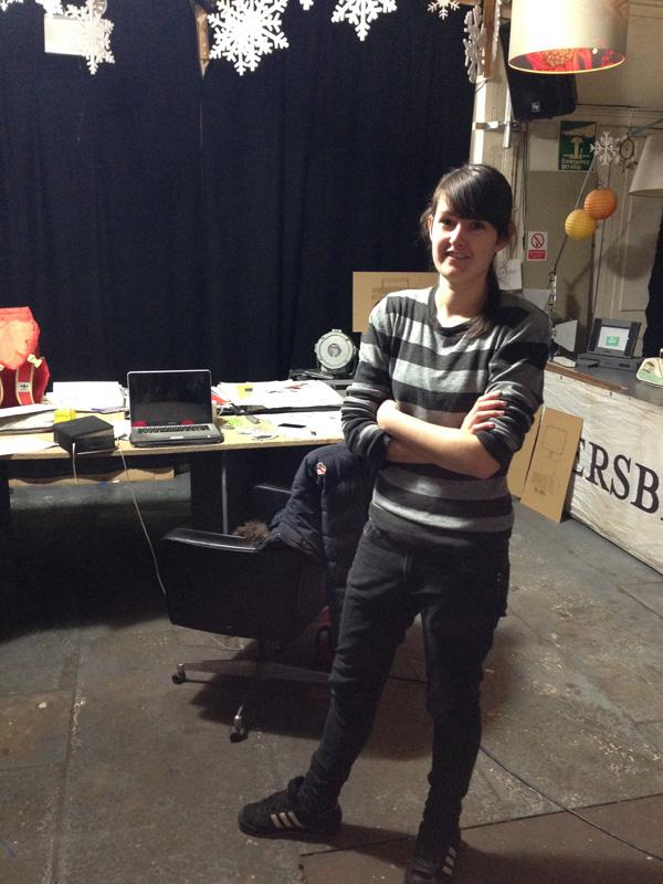 Camilla Barnard, studio visit