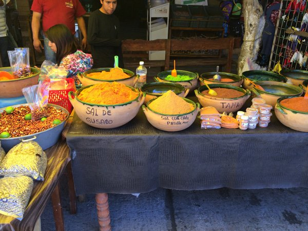 Oaxaca, Market, Spices