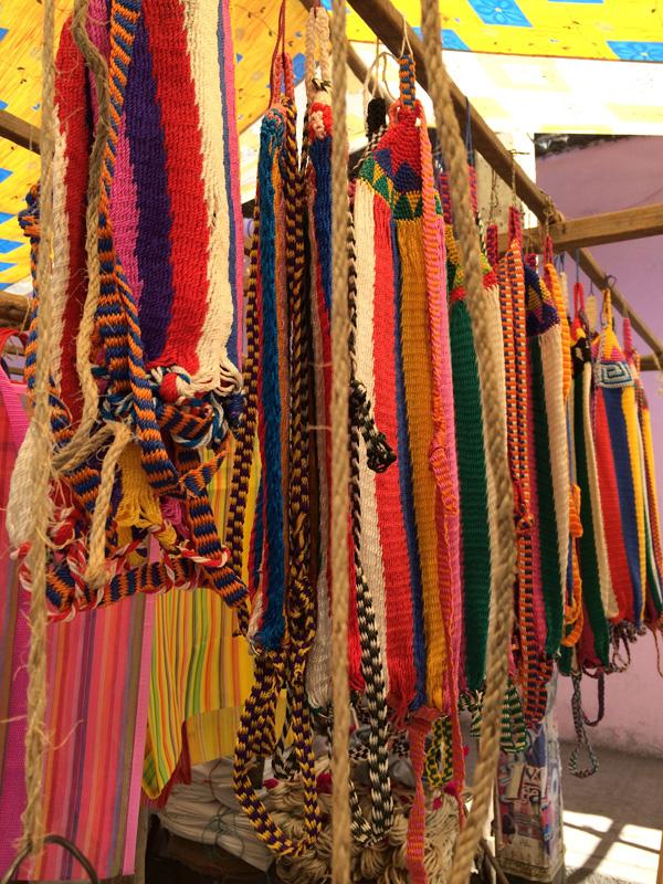 Oaxaca, Market, ropes