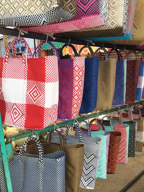 Oaxaca, Market, bags