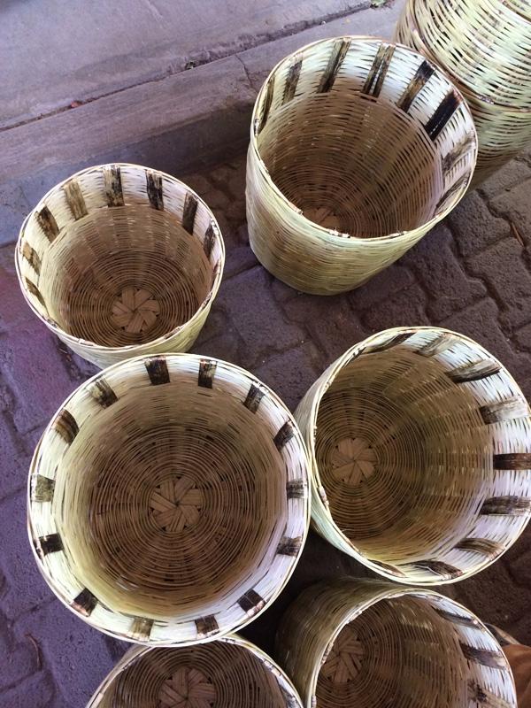 Oaxaca, Market, Baskets