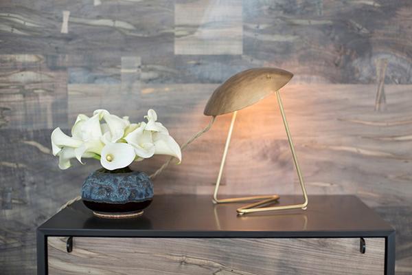 Brass Table Lamp - Lindsey Adelman - L'ArcoBaleno blog