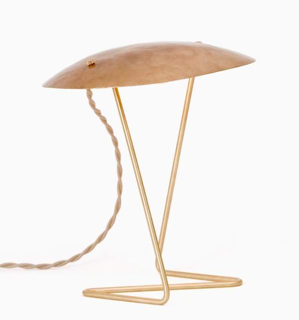 Brass Table Lamp - Lindsey Adelman - L'ArcoBaleno blog