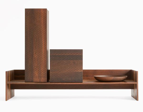 Peter Mabeo - Garth Roberts - Folete Series Long Bench - L'ArcoBaleno blog