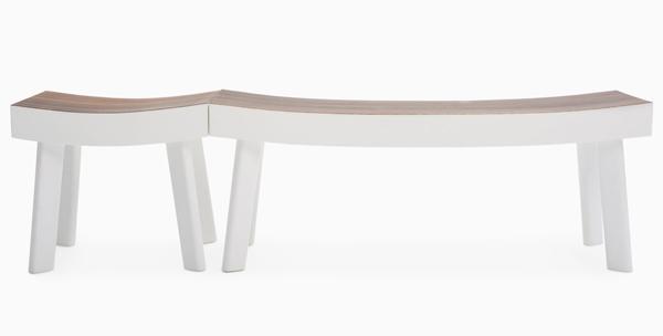 Peter Mabeo - Luca Nichetto - Ipe stool - Ipe bench - L'ArcoBaleno blog