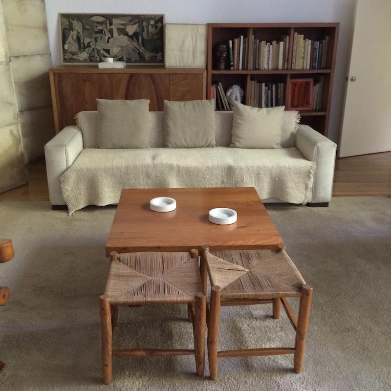 Barragan's living room