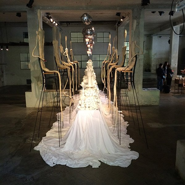 Segno Italiano's installation