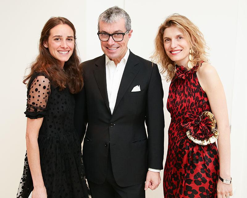 Ambra, Giorgio Guidotti, and honored guest Martina Mondadori