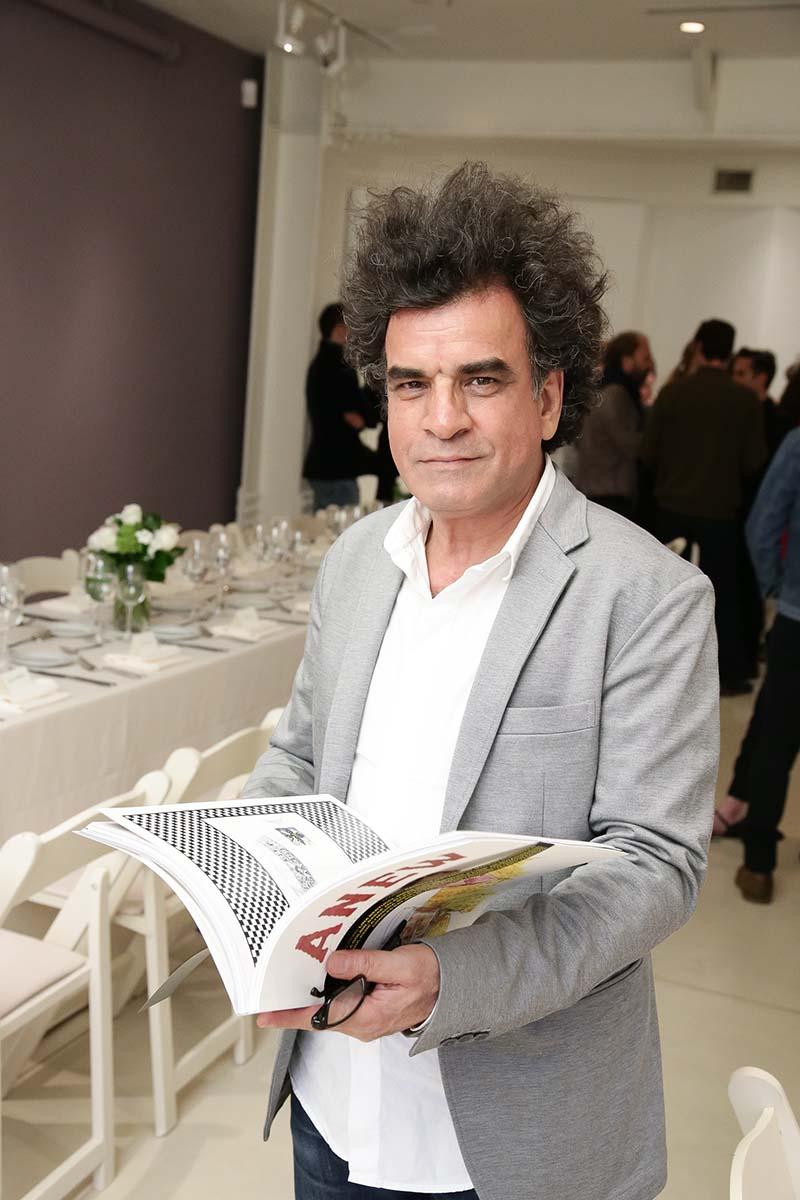 cinematographer and writer Ghasem Ebrahimian