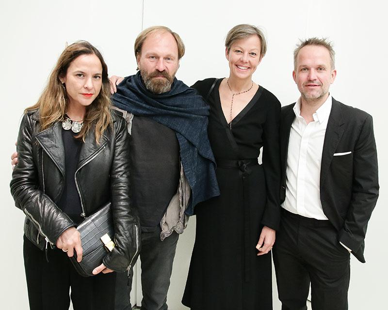 designer Sara Beltrán, Design Hotels' Claus Sendlinger, and L'AB's Tatjana Sprick and Oliver Weyergraf