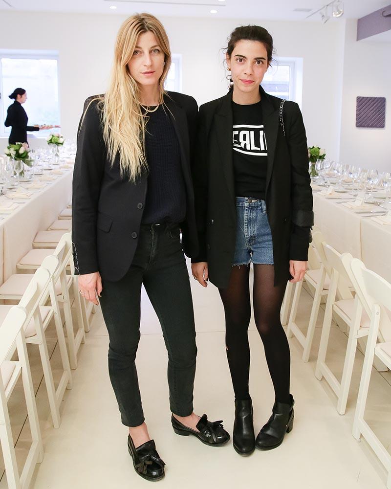 stylist Ada Kokosar and Georgia Tal
