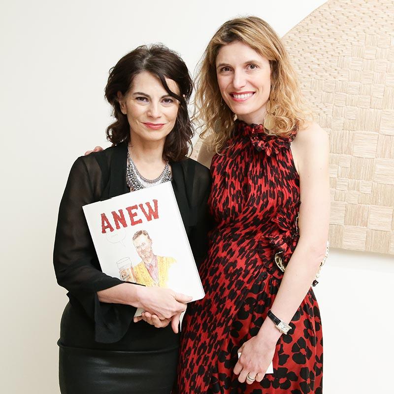 photographer Lina Bertucci and Martina Mondadori