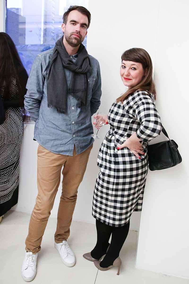 Snarkitecture's Alex Mustonen and PS Design's Michela Pellizzari
