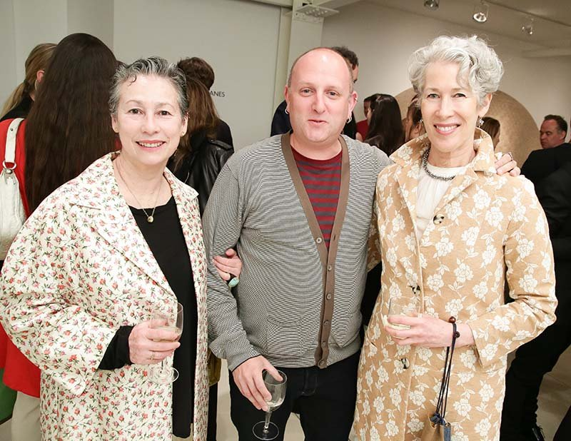 Gallerist Cristina Grajales, R&Co's Zesty Meyers, and Cooper-Hewitt's Cara McCarty