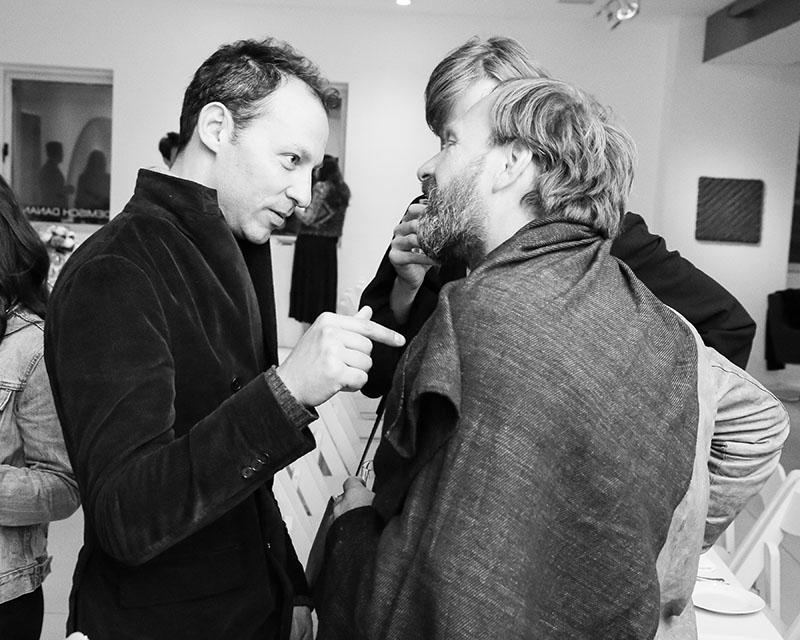 architect Tommaso Fantoni and Claus Sendlinger