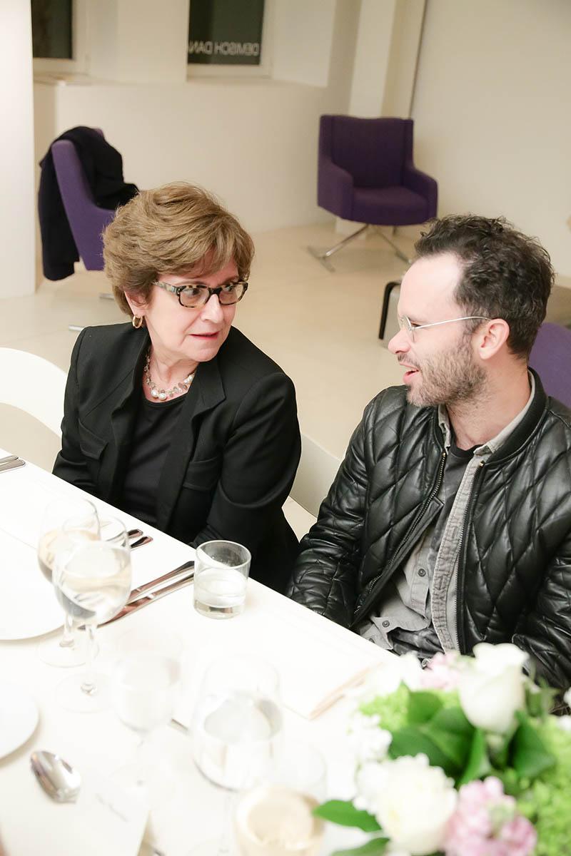 editor Pilar Viladas and designer Daniel Arsham