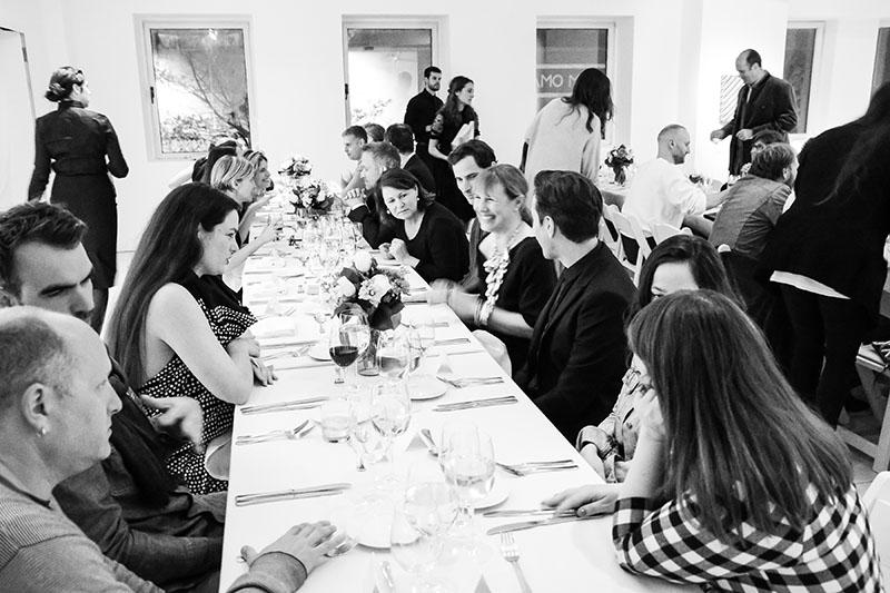 the lovely dinner table