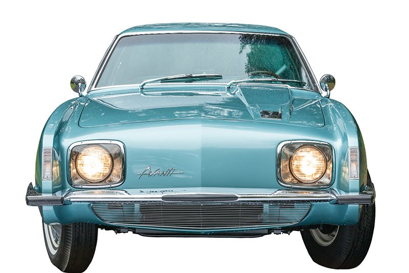 Raymond Loewy, Studebaker Avanti, 1964. Private Collection of Richard Vaux. Photo by Walter Silver/PEM.