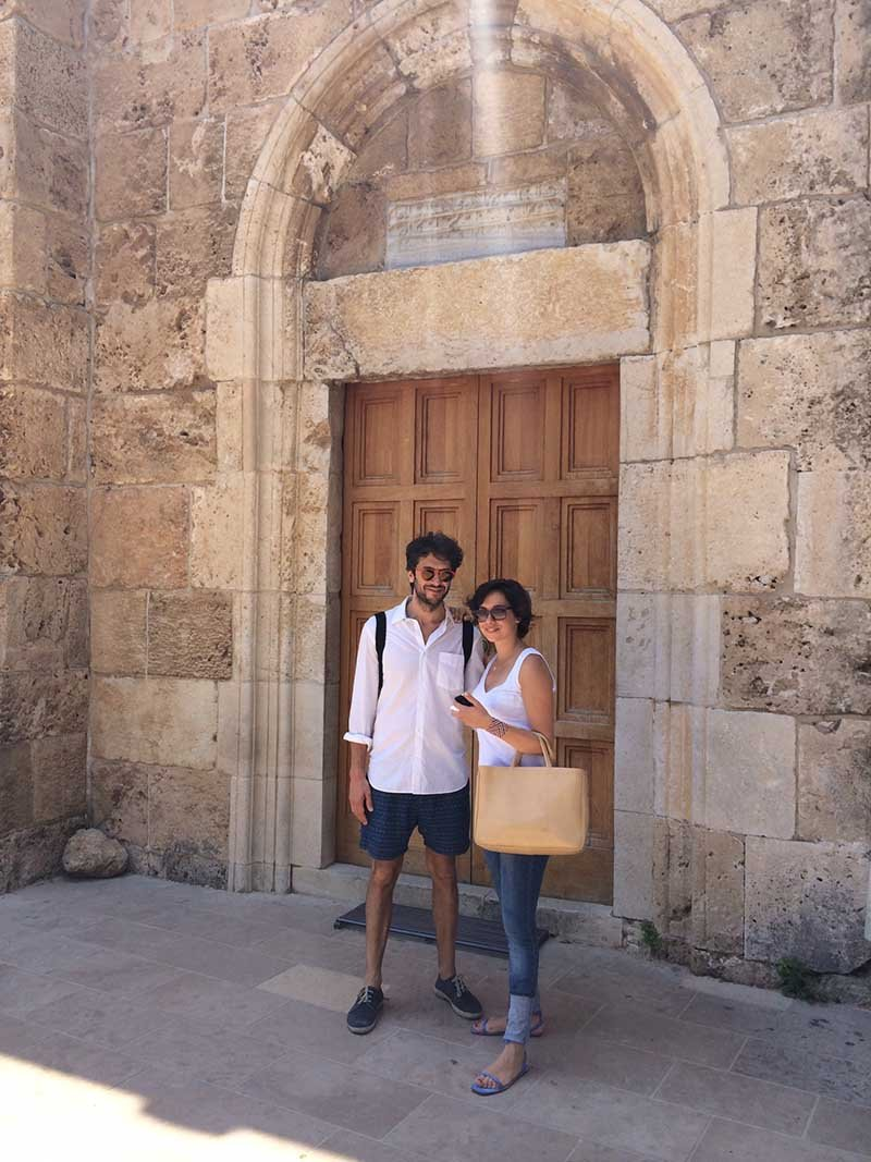 Nicolas and Pascale in Byblos