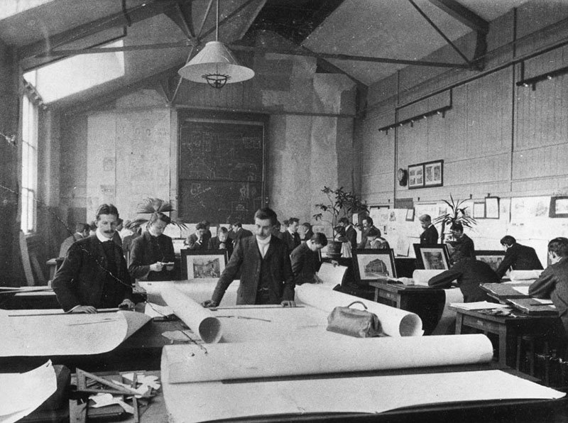 RCA Students, 1905, © RCA Archive