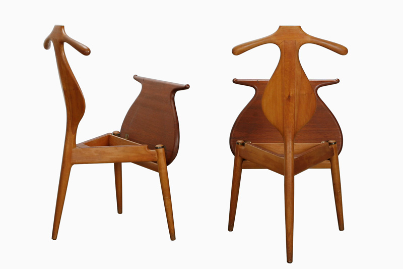 Valet Chair, designed 1953, Made by Johannes Hansen © Dansk Møbelkunst