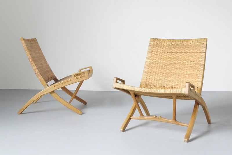 Folding Chairs, designed 1949, Made by Johannes Hansen © Dansk Møbelkunst