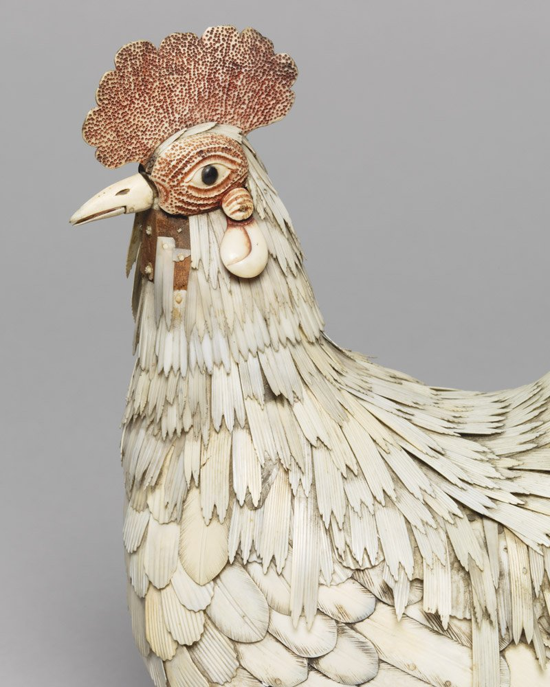 Unknown, Bone Cockerel © Vivacity Culture and Leisure – Peterborough Museum