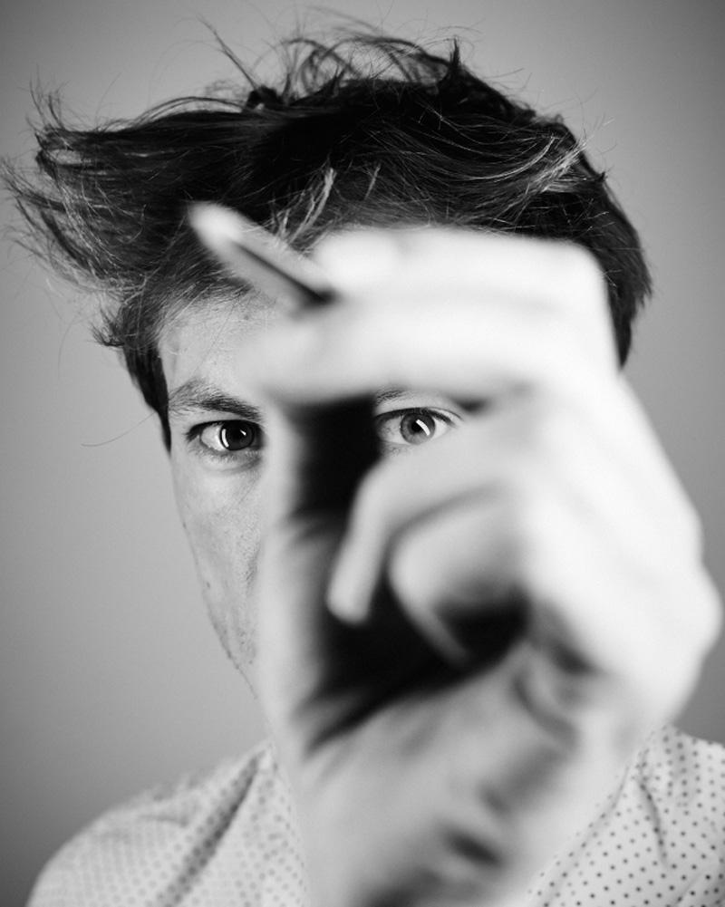 Matteo Cibic, photo © Davide Gallizio